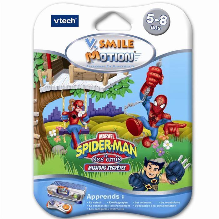Vtech Jeu V.Smile Motion Spiderman