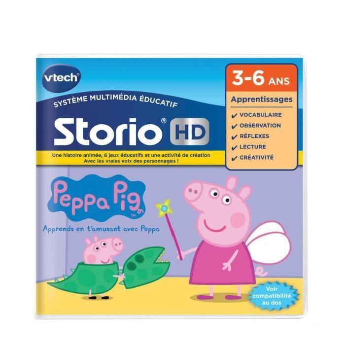 VTECH Jeu hd Storio Peppa Pig