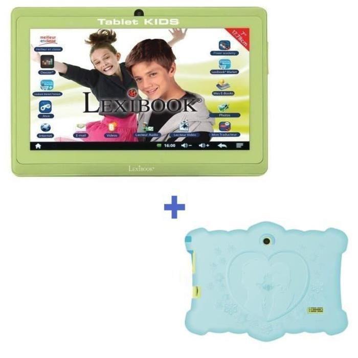 "LA REINE DES NEIGES Tablette Enfant 7"" + Housse Lexibook"