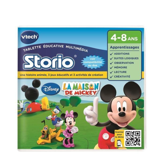 VTECH Jeu Educatif Storio  La Maison De Mickey