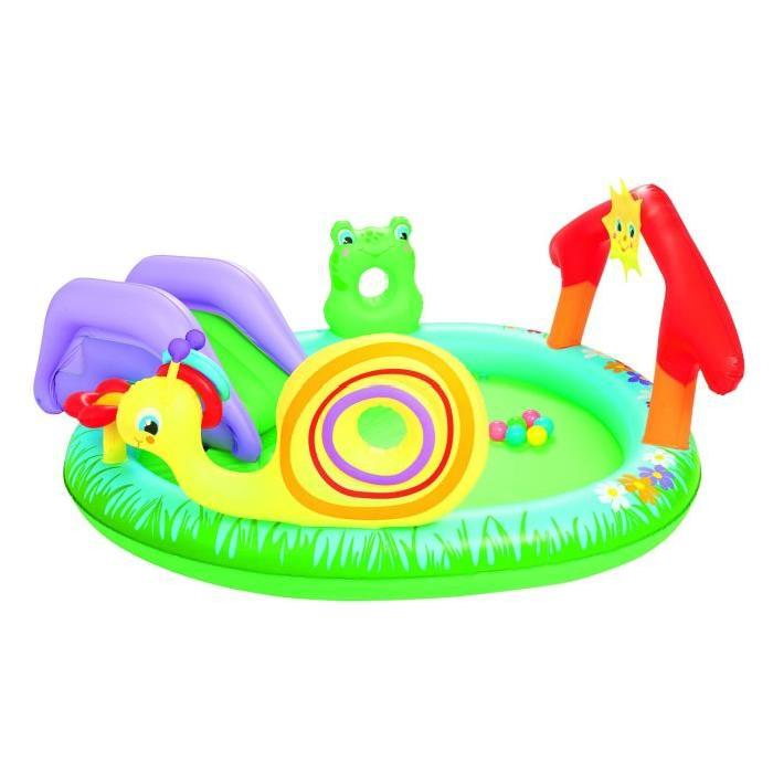 BESTWAY Aire de jeux Play & Grow Gonflable Garden Pool - 211 x 155 x h81 cm