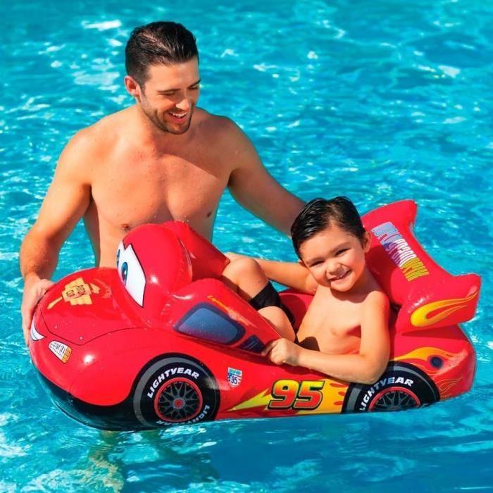 CARS Bateau gonflable enfant Pool Cruiser - Jeux de Piscine