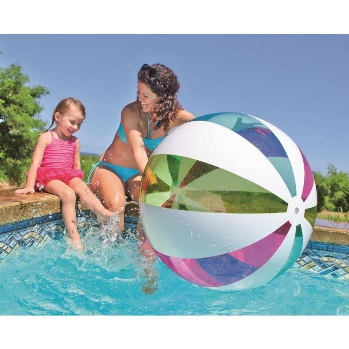 INTEX Ballon Gonflable piscine / plage Geant 107 Cm