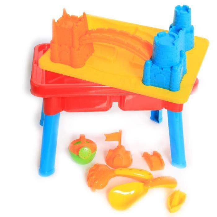 MGM Set de château pour la plage - 16 pieces