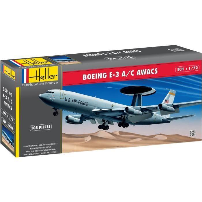 HELLER Maquette Boeing E-3B Awacs