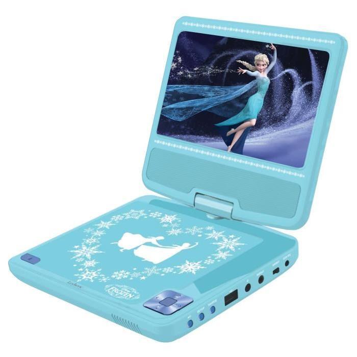 la reine des neiges lecteur dvd portable enfant lexibook. Black Bedroom Furniture Sets. Home Design Ideas