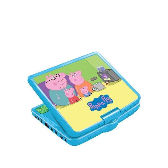 Lecteur DVD portable Peppa Pig