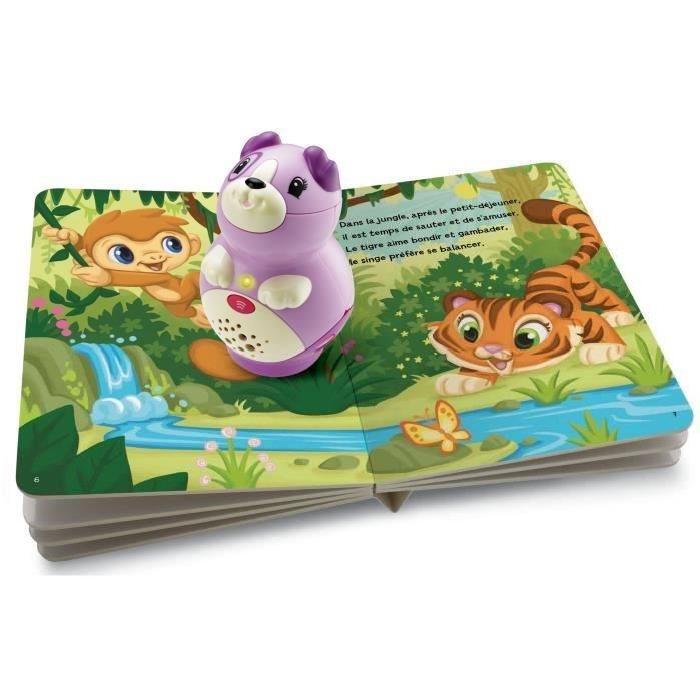 LEAPFROG Pack Mon Lecteur Violette + livre inclus