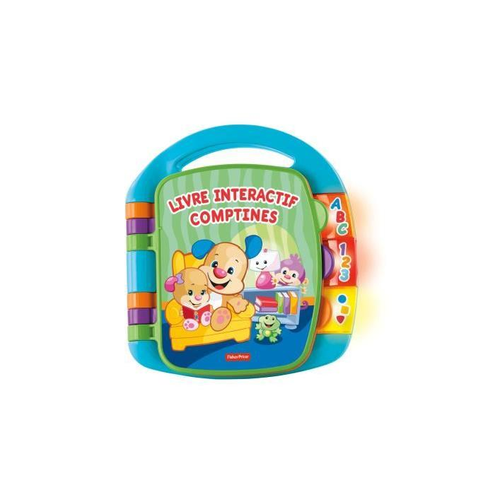 FISHER-PRICE Livre Interactif Comptines