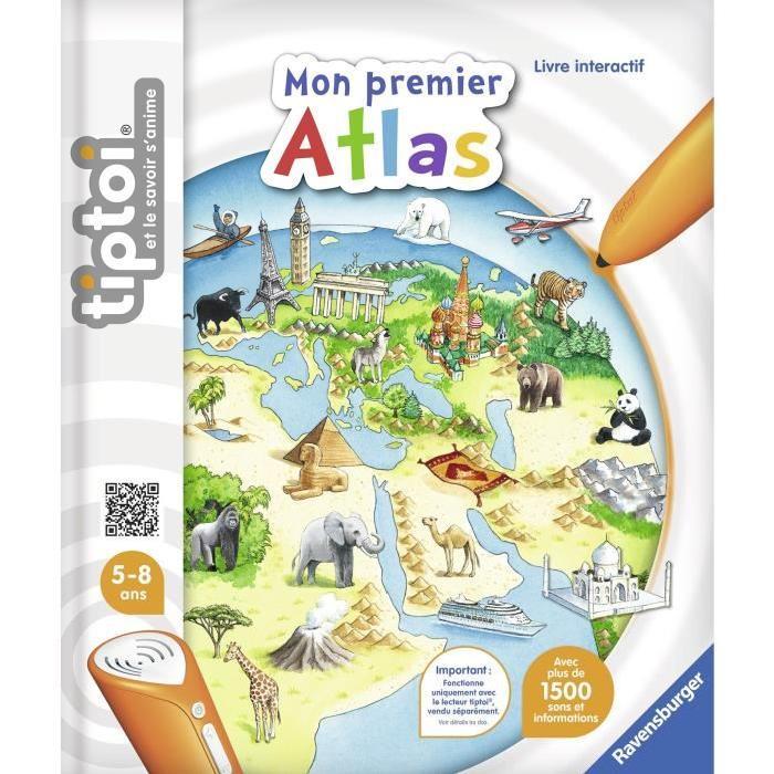 TIPTOI Mon premier Atlas Interactif