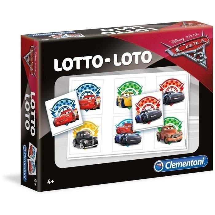CARS 3 Loto Clementoni