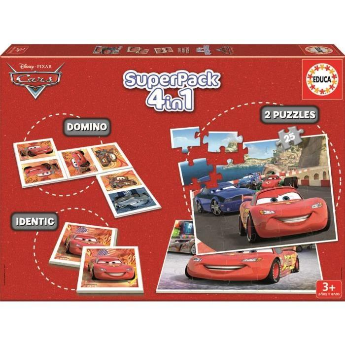 CARS 2 Superpack Multijeux