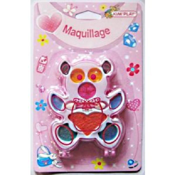 KIMPLAY Maquillage pour enfant ourson et pomme