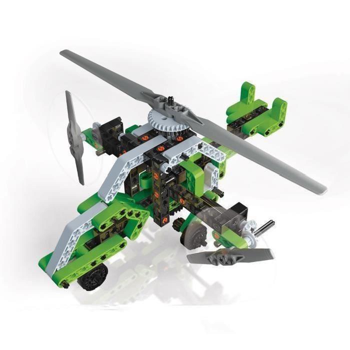 CLEMENTONI Atelier Mécanique Hélicoptere & Aéroglisseur