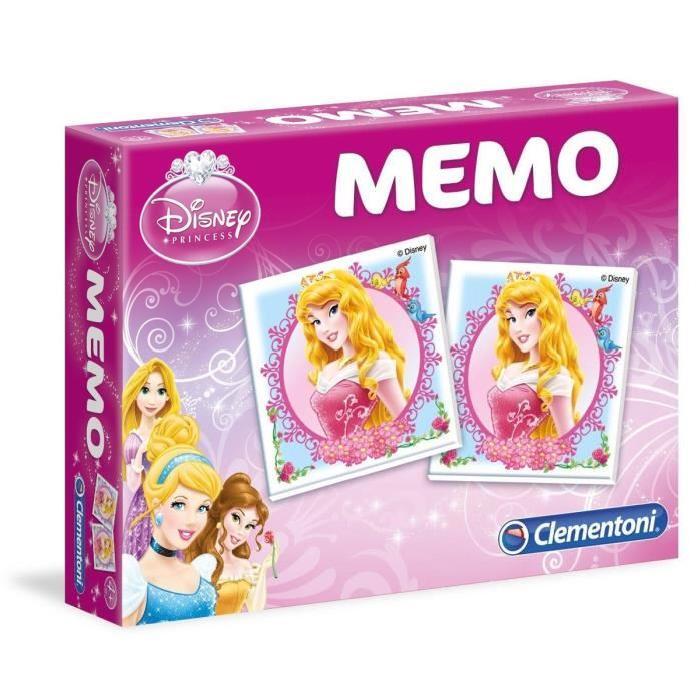 DISNEY PRINCESSES Memo Clementoni