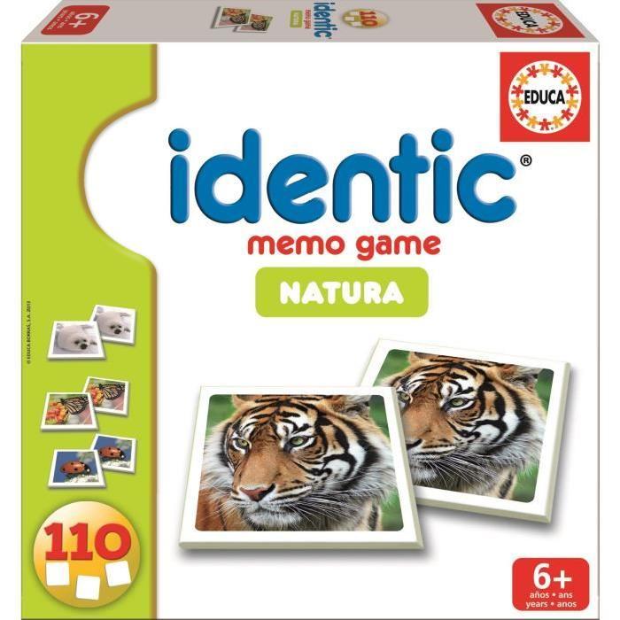 EDUCA Identic Natura (110 cartes)
