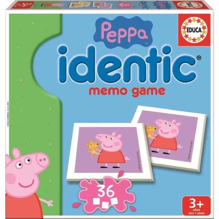 PEPPA PIG Idendic - Jeux de Mémo