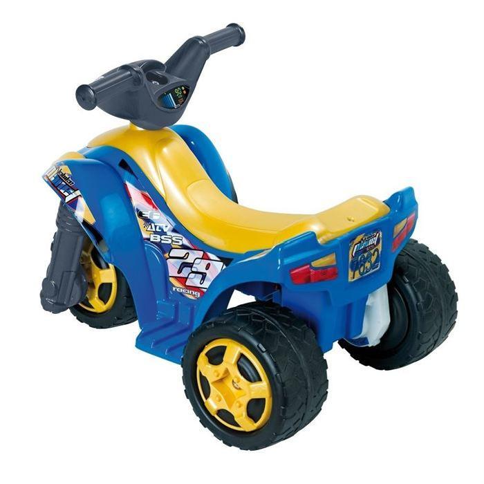 FEBER Moto Electrique Enfant Tribike Planet 6 Volts 8 Pouces