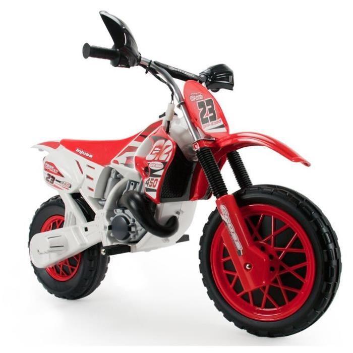 INJUSA Moto Electrique Enfant Enduro 6 V