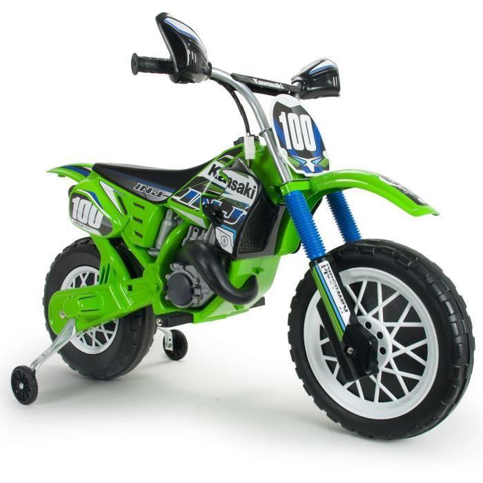 INJUSA Moto Kawasaki Cross 6 V
