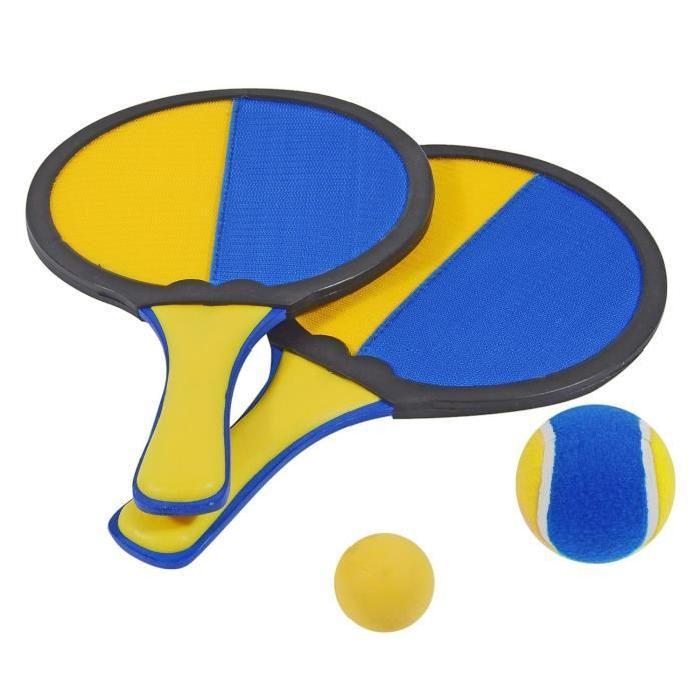 HUDORA Set de 2 Raquettes 2 Balles