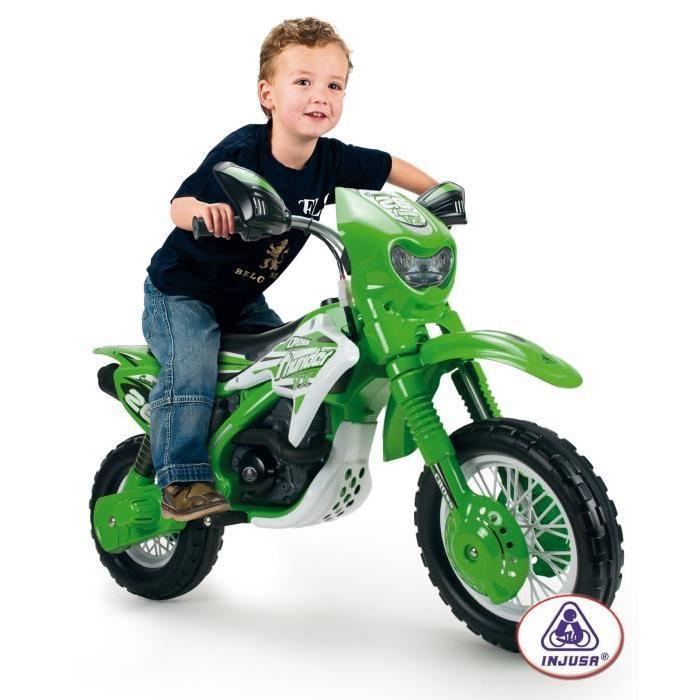INJUSA Moto Electrique Enfant Cross Thunder