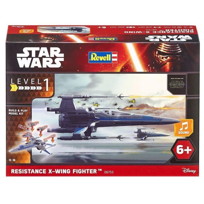 STAR WARS Build & Play X-Wing Fighter Maquette Pour Enfant