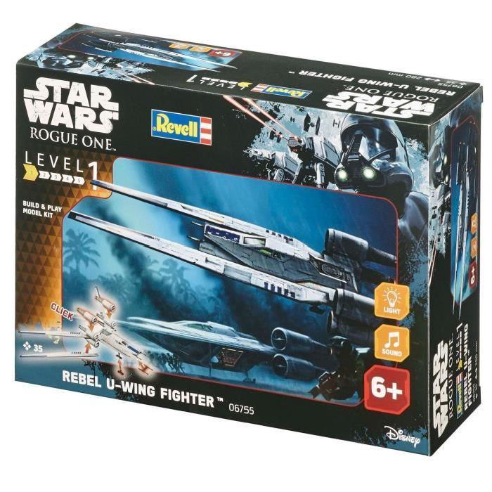 STAR WARS Build&Play Rebel U-Wing Fighter