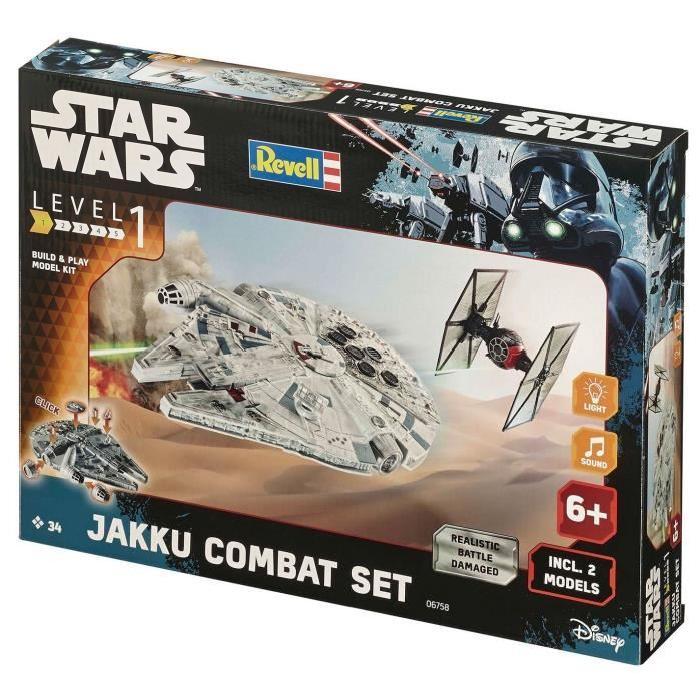STAR WARS Build&Play Jakku Combat Set