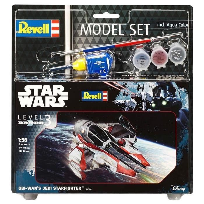 STAR WARS Model-Set Obi Wan's Jedi Starfig - Maquette
