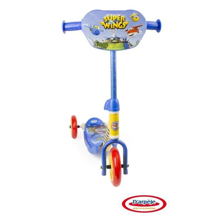 SUPER WINGS Trottinette 3 Roues