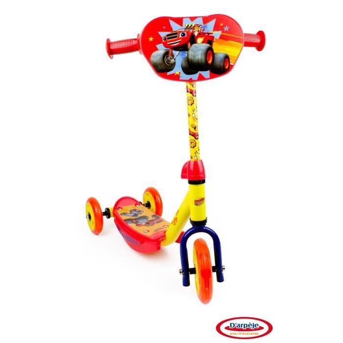 BLAZE & MONSTER Trottinette enfant 3 roues
