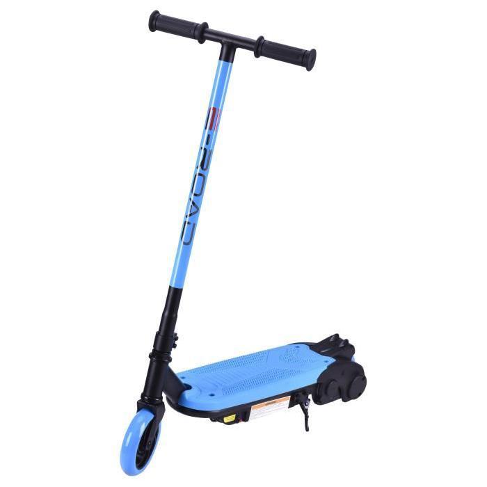 BIKEROAD Trottinette Électrique pour Enfant 80w (14km/h) - Bleu