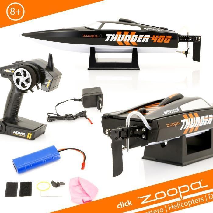 ACME Bateau télécommandé Zoopa Thunder 400