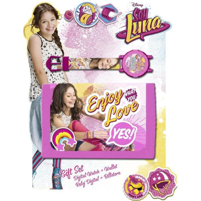 SOY LUNA Set Portefeuille + Montre