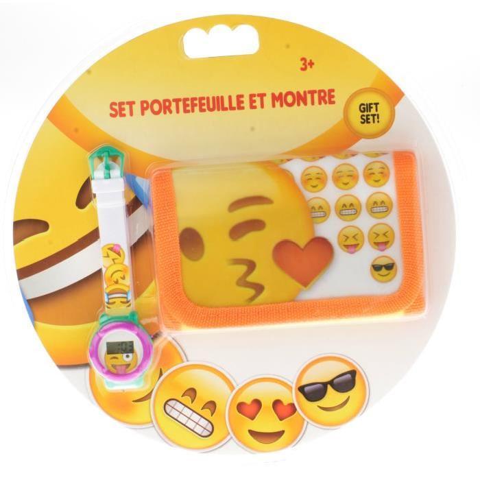 COMICS Montre + Portefeuille Smiley