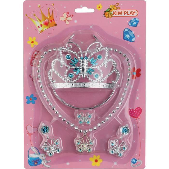 KIMPLAY Kit de bijoux pour princesse