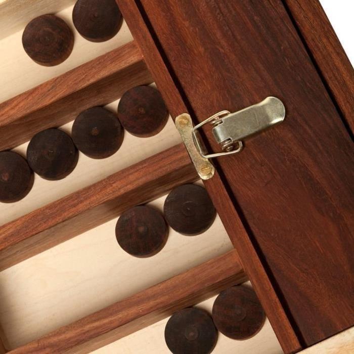 ASMODEE Billard Hollandais en bois - Mango - 110 cm