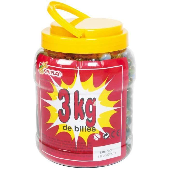 KIMPLAY Baril de 3 kg de billes