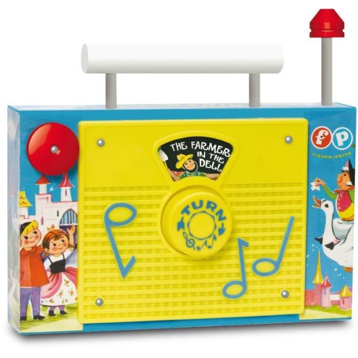 FISHER-PRICE 'Classic' - Radio TV