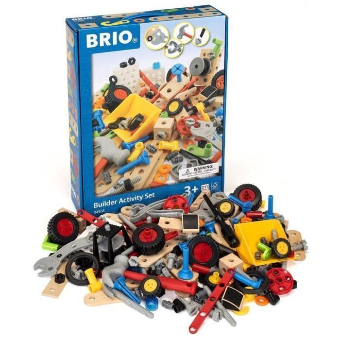BRIO Coffret activité builder - 210 Pieces