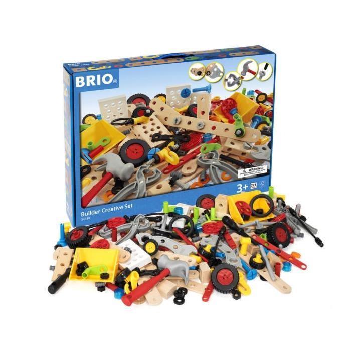 BRIO Coffret créatif builder - 270 Pieces