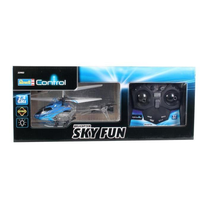 REVELL CONTROL Hélicoptere radiocommandé Sky FUN RTF 3 Voies 2,4 GHz