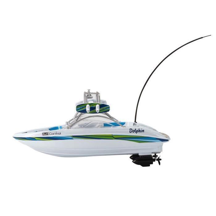 REVELL CONTROL - Bateau Radiocommandé - Speedboat DOLPHIN