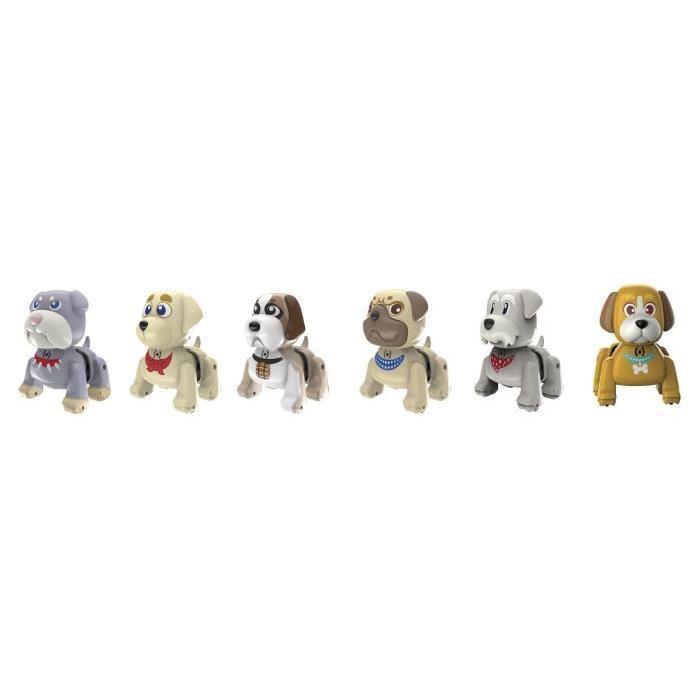 SILVERLIT Composant Display: Puppies 6 modeles assortis - Aléatoire