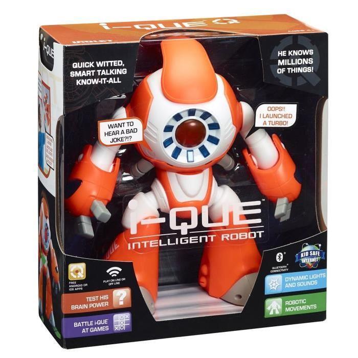 IQUE Robot Intelligent a Effets Sonores et Lumineux