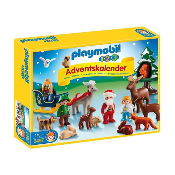 PLAYMOBIL - 5497 - Calendrier Avent Pere Noël