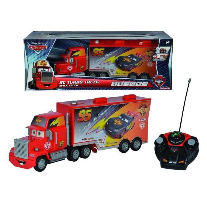 CARS MAJORETTE Mack Truck Carbon - Disney