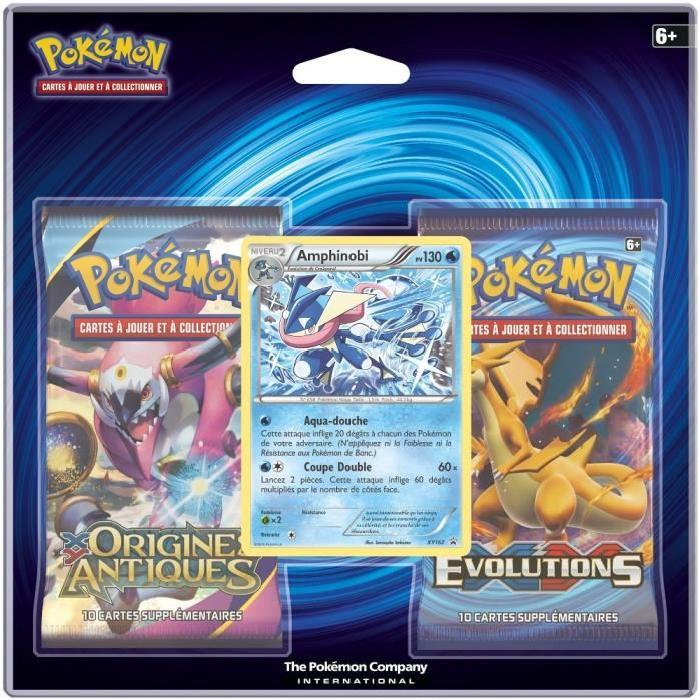 POKEMON - Pack 2 Boosters