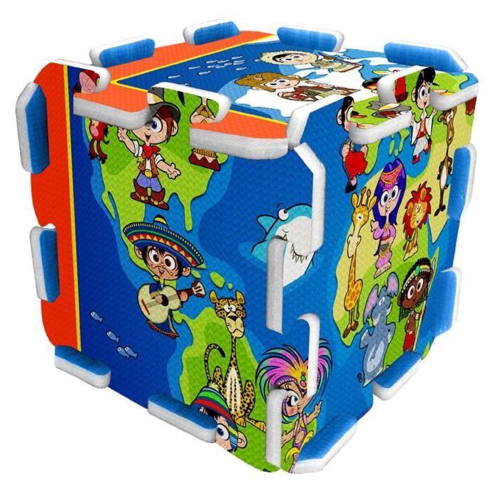 Stamp Tapis Puzzle Bebe En Mousse Enfants Planisphere